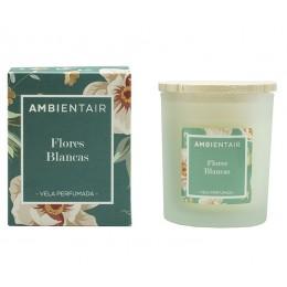 Свеча ароматическая Ambientair Белые цветы Floral 30 ч
