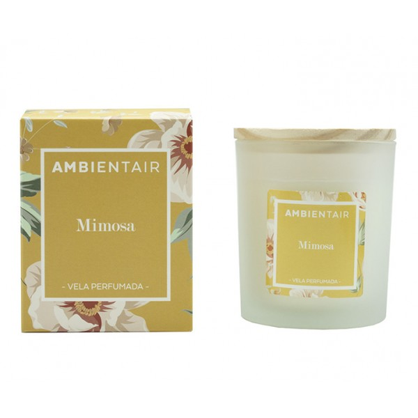 Свеча ароматическая Мимоза Floral 30 ч