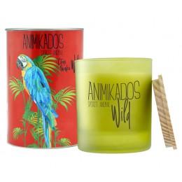 Свеча ароматическая Parrot - цитрусовый Wild 40 ч