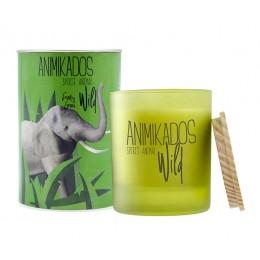 Свеча ароматическая Elephant - свежий Wild 40 ч