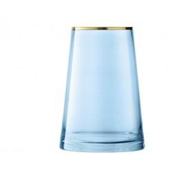 Ваза LSA International Sorbet 26 см, голубая