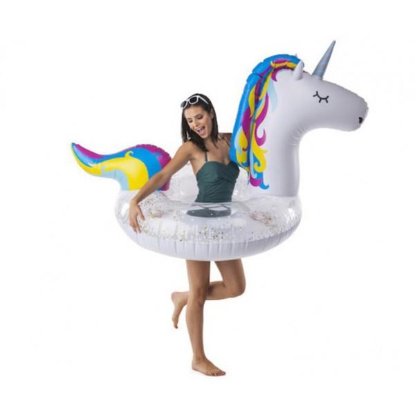 Круг надувной Unicorn Glitter