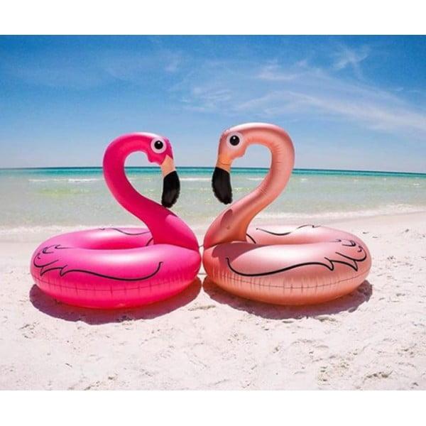 Круг надувной Flamingo Rose Gold