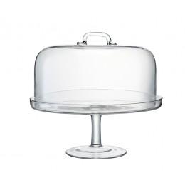 Подставка для торта с крышкой LSA International Serve D34.5 см
