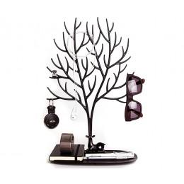 Декоративный органайзер для украшений Deer большой черный