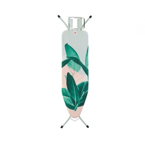 Гладильная доска 124х38 см (B) тропические листья
