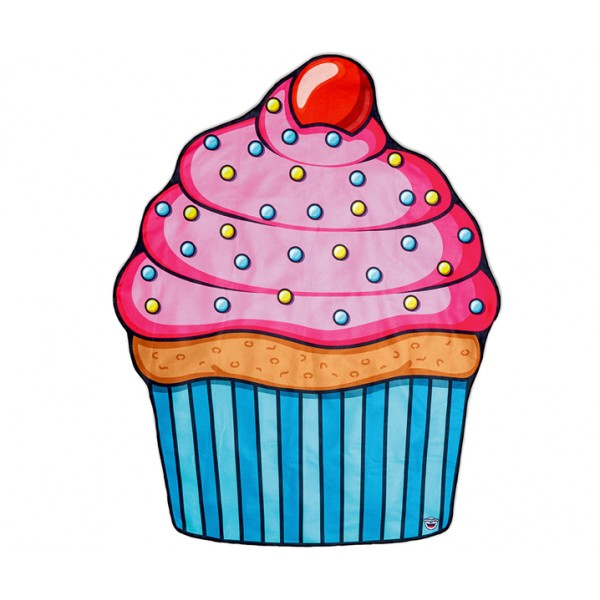 Покрывало пляжное Cupcake