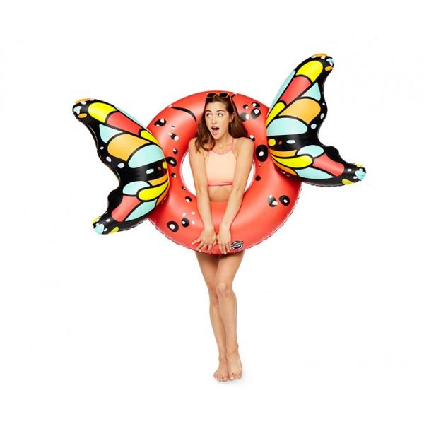Круг надувной Butterfly Wings-Red