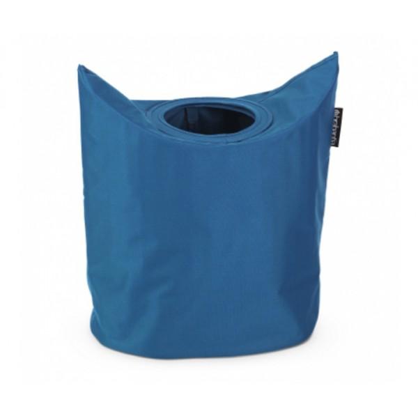 Сумка для белья овальная 50 л синий