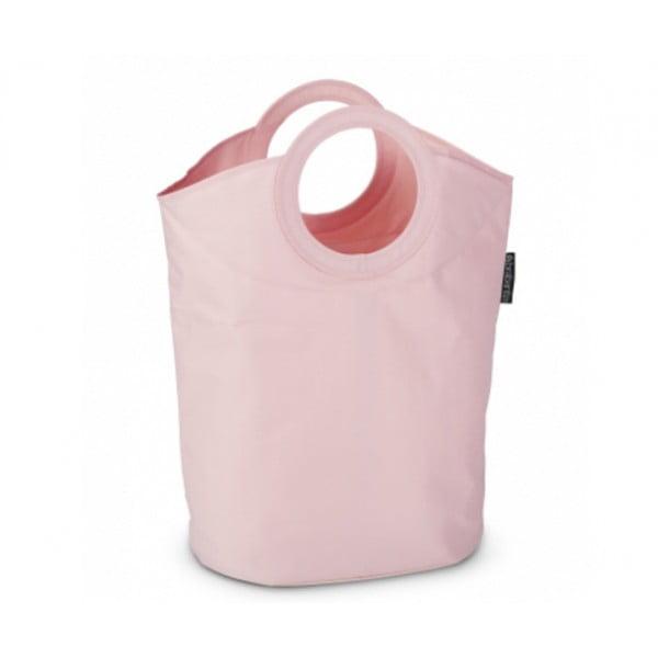 Сумка для белья овальная 50 л розовый