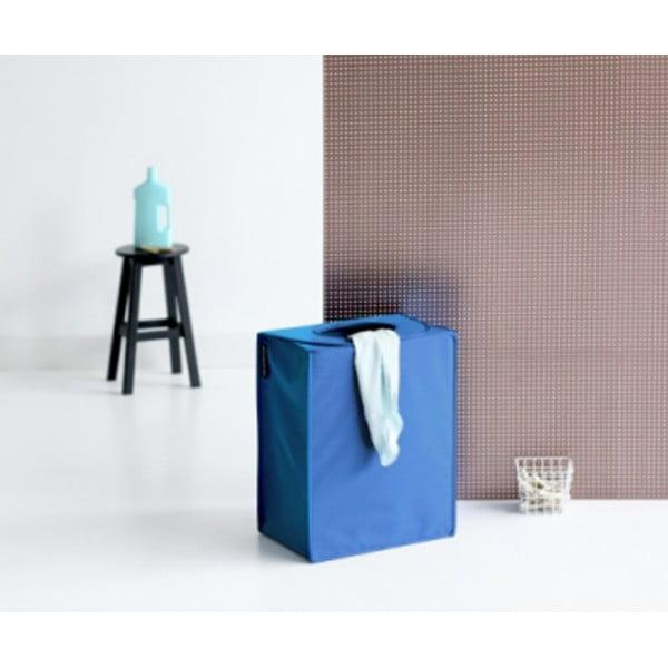 Сумка для белья прямоугольная 55 л синий