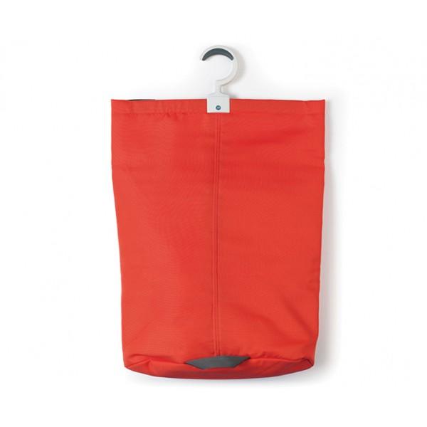 Подвесная сумка для белья 35 л красный