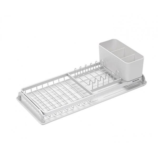 Компактная сушилка для посуды светло-серый