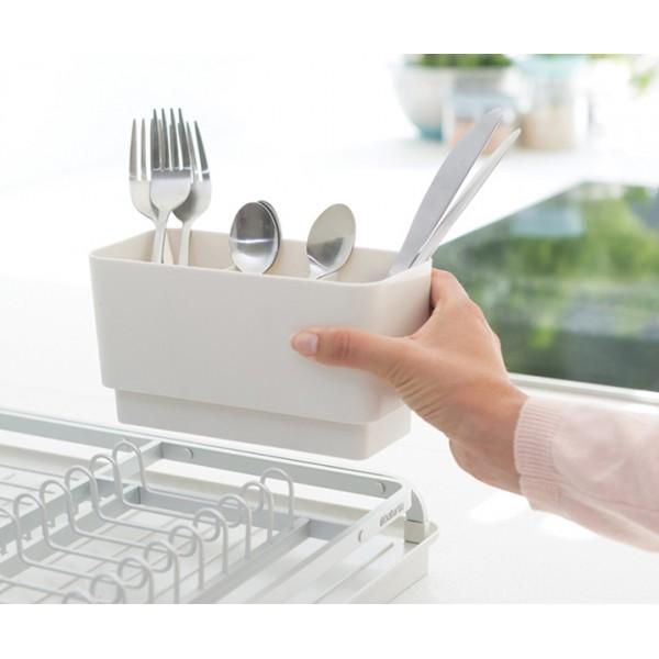 Сушилка для посуды светло-серый