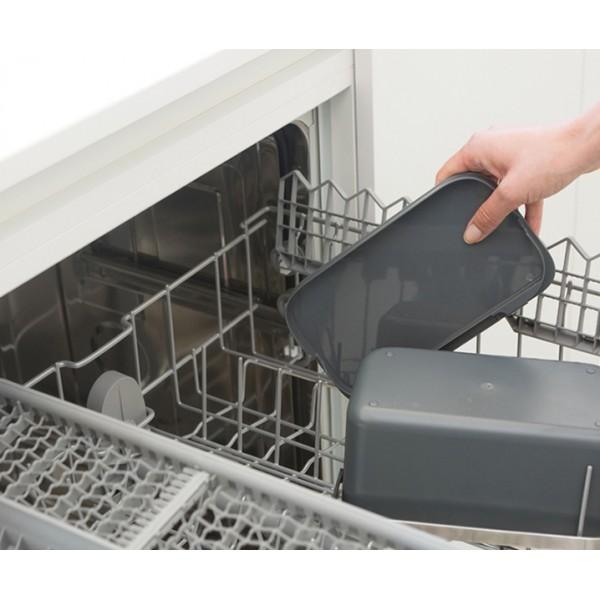 Контейнер для пищевых отходов темно-серый