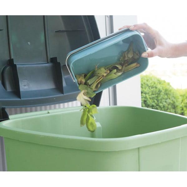 Контейнер для пищевых отходов мятный