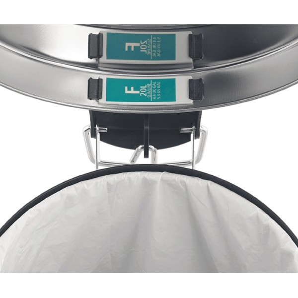 Мешки для мусора PerfectFit размер F (20 л для высоких баков) рулон 20 шт