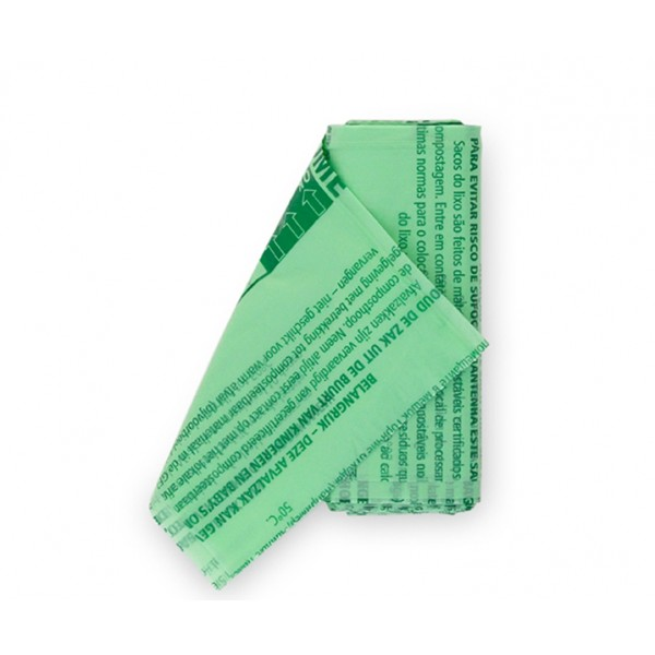 Биоразлагаемые мешки для мусора PerfectFit размер S (6 л) 10 шт
