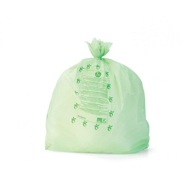 Биоразлагаемые мешки для мусора PerfectFit размер C (10-12 л) 10 шт