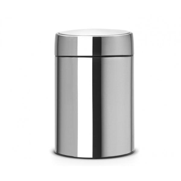Мусорный бак Slide Bin 5 л стальной матовый FPP
