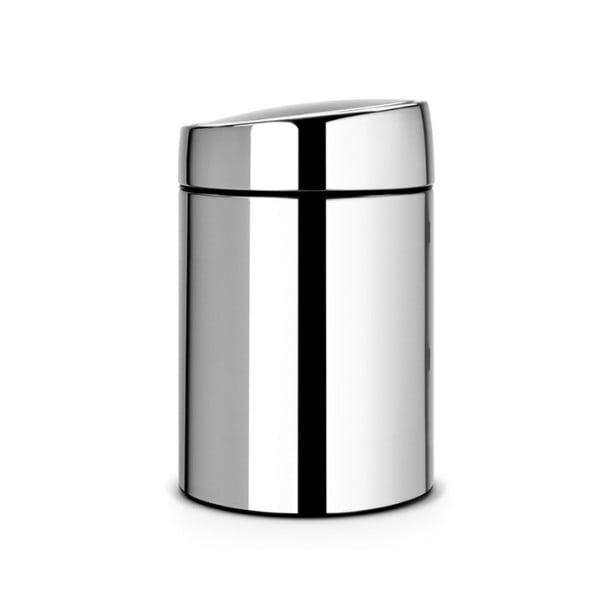 Мусорный бак Slide Bin 5 л стальной полированный