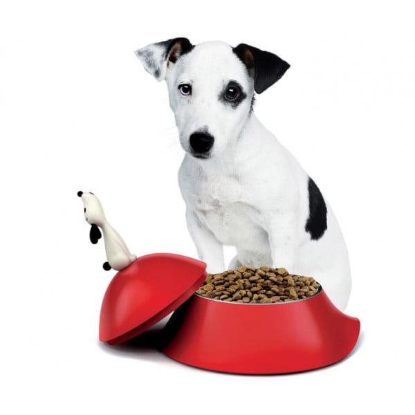 Миска для собаки Lula красная
