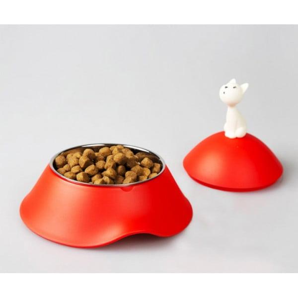 Миска для кошки Mio красная