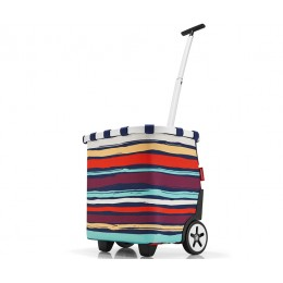 Сумка-тележка Carrycruiser Artist Stripes