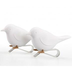 Держатель для салфеток Qualy Sparrow белый