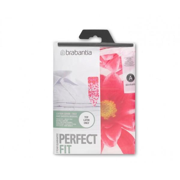 Чехол PerfectFit для гладильной доски 124х38 см (B) розовый сантини