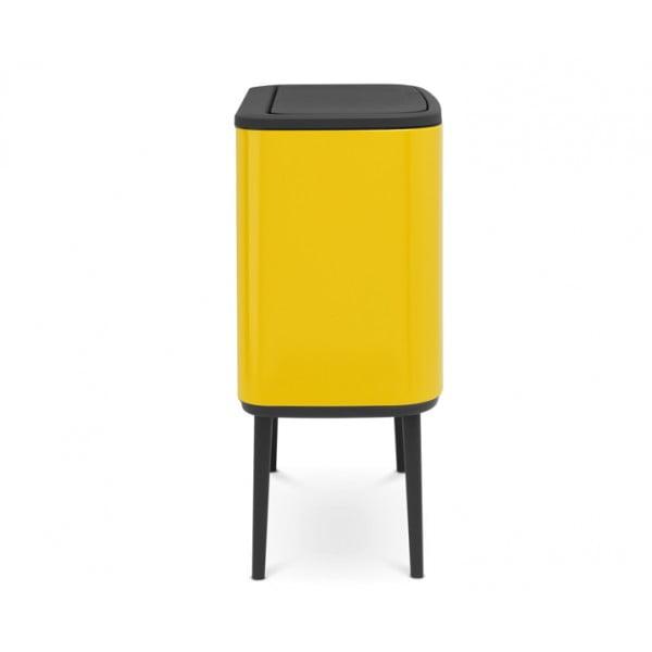 Мусорный бак Bo Touch Bin 11+23 л желтый