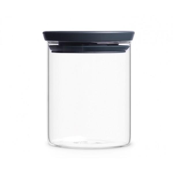 Модульная стеклянная банка 0,6 л