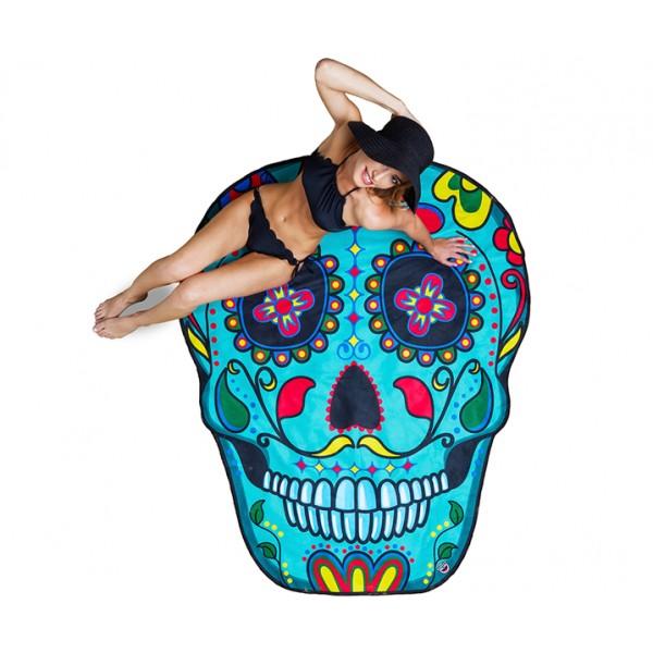 Покрывало пляжное Sugar Skull