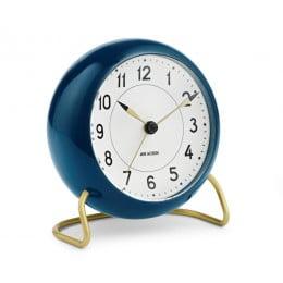 Настольные часы AJ Station Petrol blue