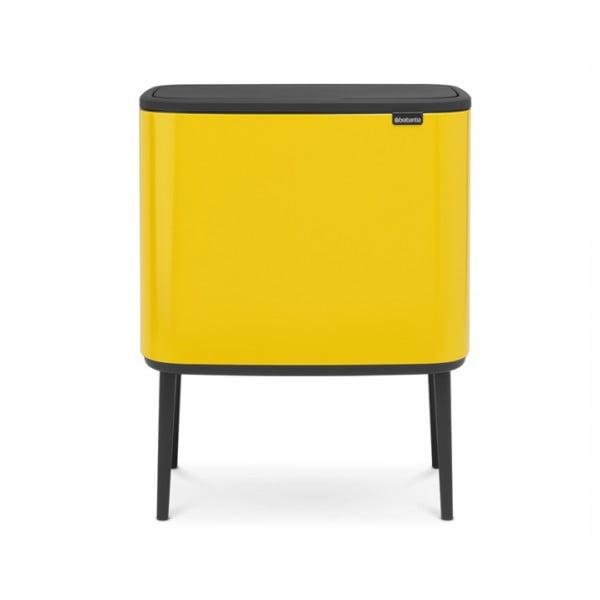 Мусорный бак Bo Touch Bin 36 л желтый