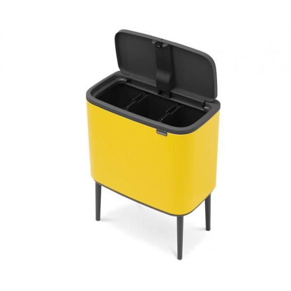 Мусорный бак Bo Touch Bin 11х3 л желтый