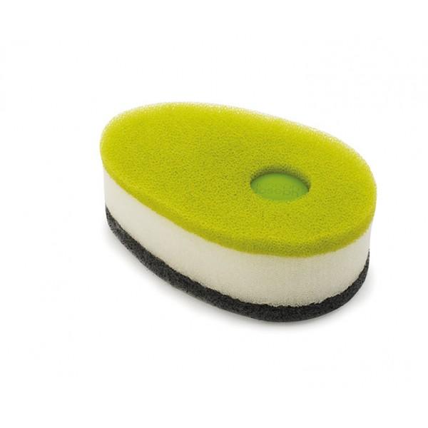 Набор губок с капсулой Soapy Sponge™ 3 шт зеленый