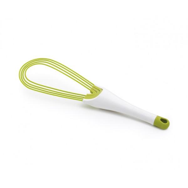 Венчик складной 2-в-1 Twist™ белый/зеленый