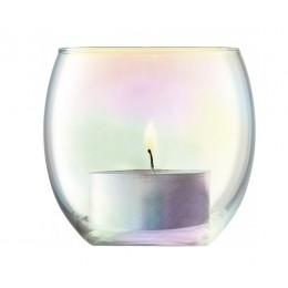 Набор из 4 подсвечников для чайных свечей Pearl D 6.8 см