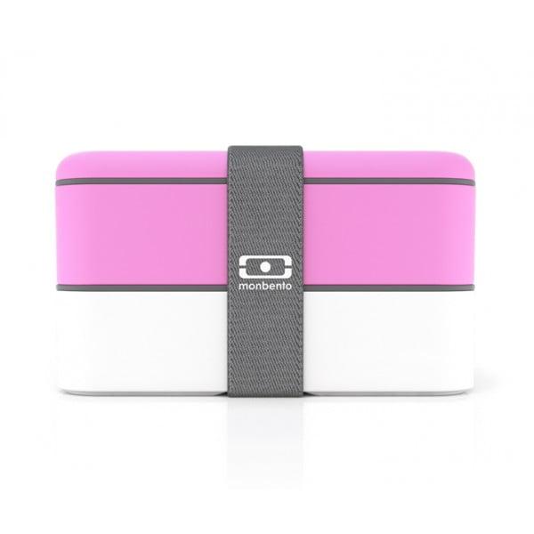 Ланч-бокс MB Original розовый/белый