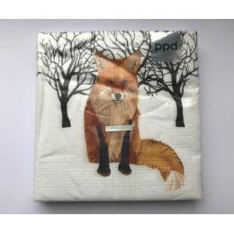 Салфетки бумажные Winter Fox 20 шт