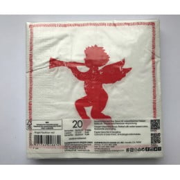 Салфетки бумажные Angel Fashion red 20 шт