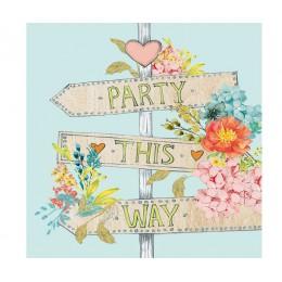 Салфетки Party This Way бумажные 20 шт