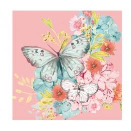 Салфетки Louise Butterfly бумажные 20 шт