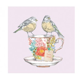 Салфетки Tea for Two Birds бумажные 20 шт