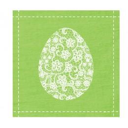 Салфетки Flowers Egg бумажные 20 шт