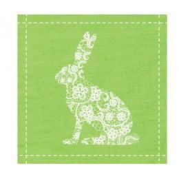 Салфетки Flowers Rabbit бумажные 20 шт