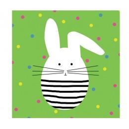 Салфетки Funny Bunny бумажные 20 шт