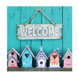 Салфетки Welcome Home бумажные 20 шт