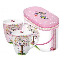 Набор кружек в подарочной упаковке Love Tree